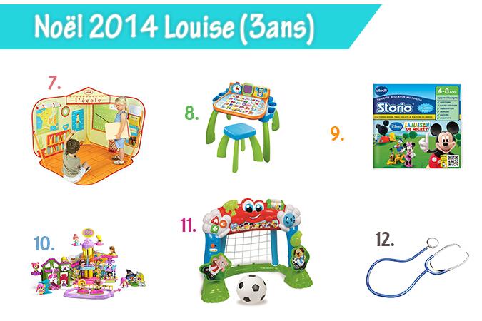 La liste au Père Noël de Louise 3 ans et Margaux 5 mois°° - Le ...