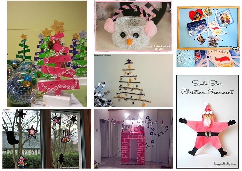 40 idées de bricolages pour occuper les enfants en attendant Noël°° - Le pays des merveilles.com