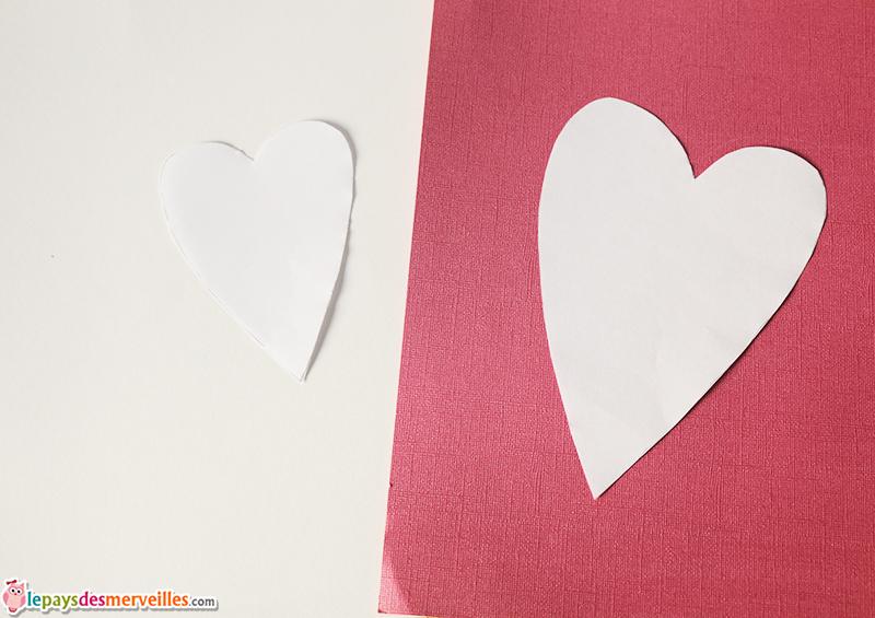 coeur papier