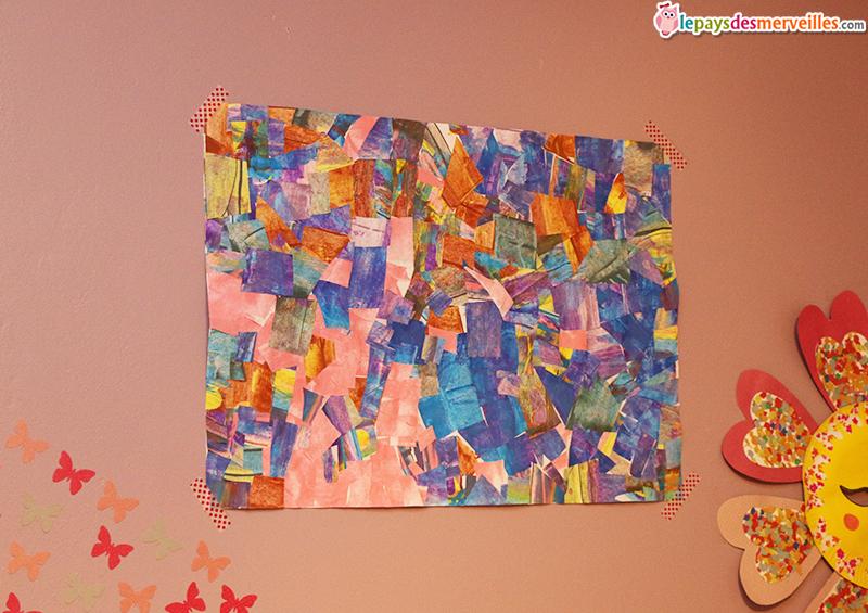 Peindre avec une carte et r aliser un tableau graphique for Peindre un tableau