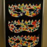 cadre masque carnaval