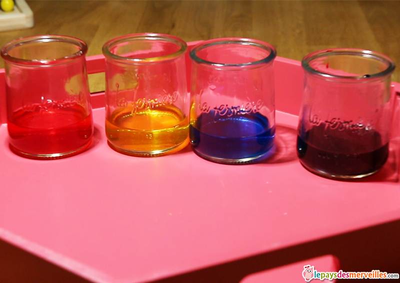 Vid o peinture p tillante avec une pipette bicarbonate vinaigre blan - Fixer les couleurs avec du vinaigre blanc ...