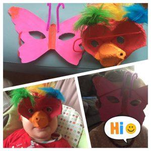 masque animaux carnaval