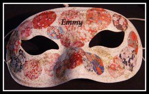 masque motif japonnais
