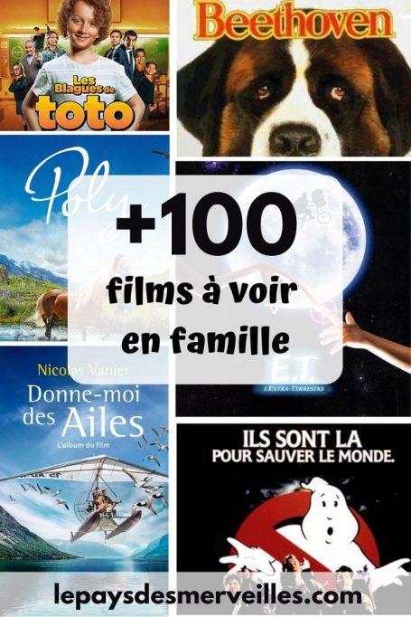 100 films à regarder en famille