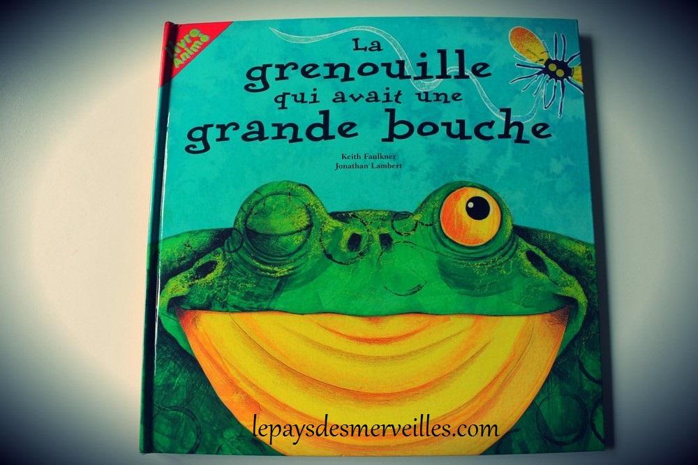 Livre pop-up La grenouille qui avait une grande bouche