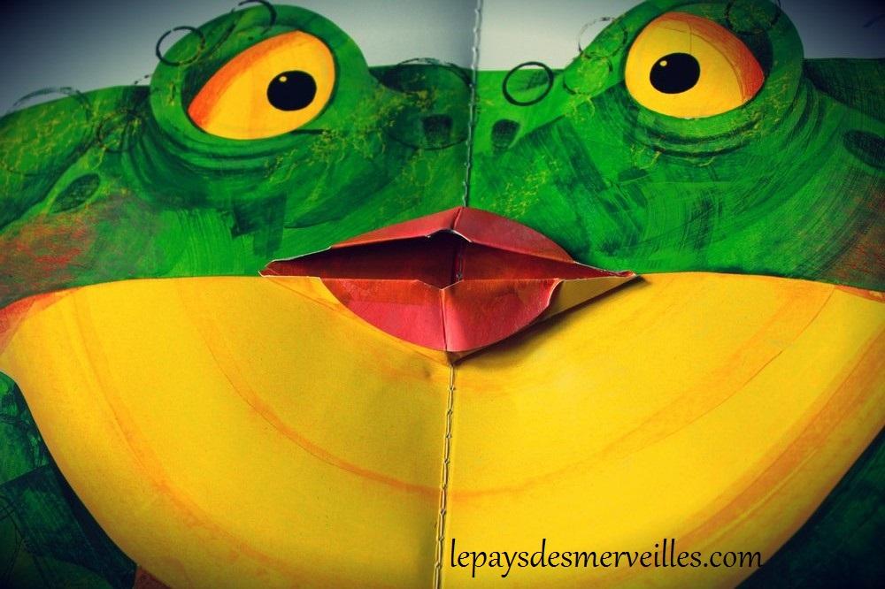 La grenouille qui avait une grande bouche
