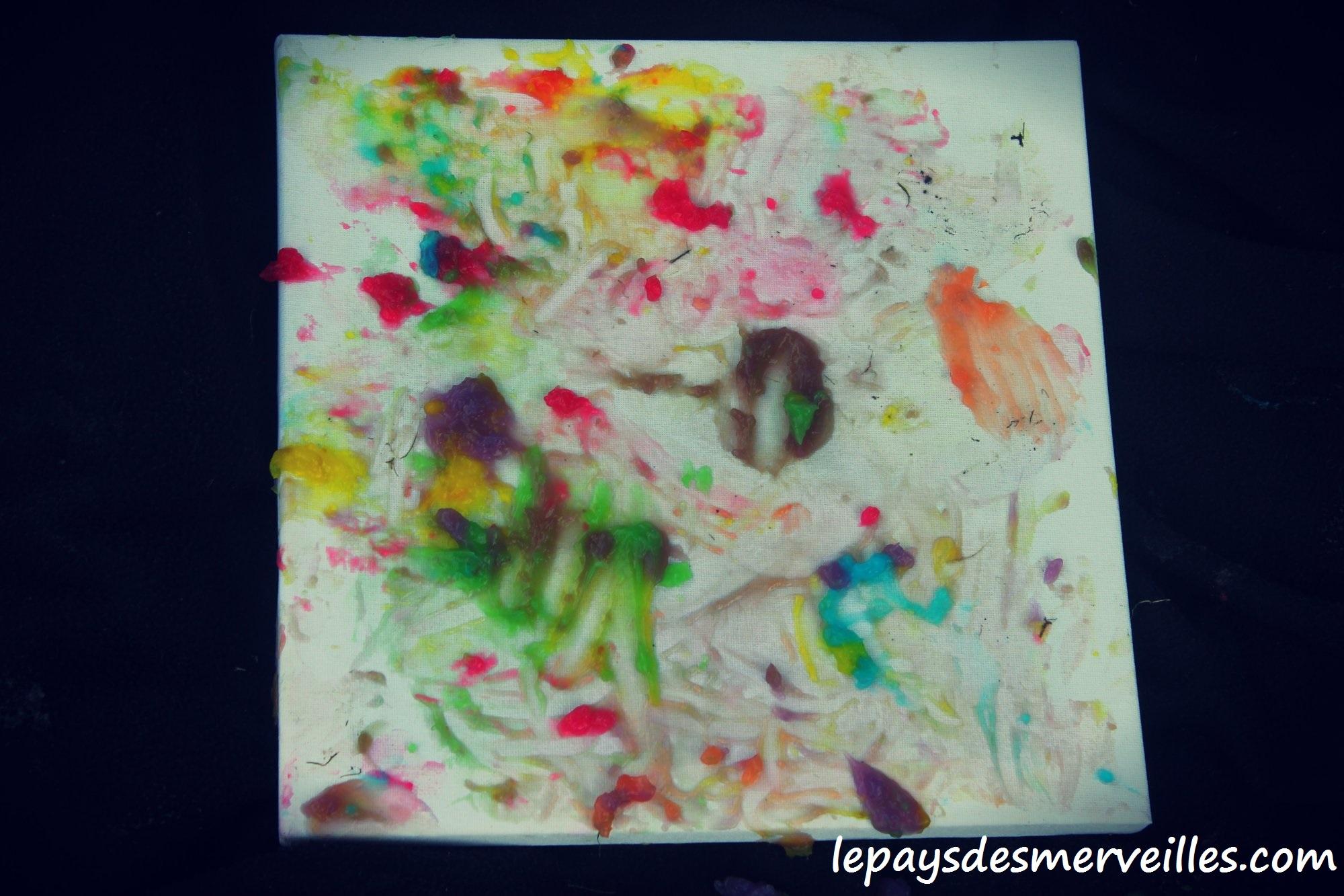 Peinture doigts maison peinture comestible le for Peindre sur plastique