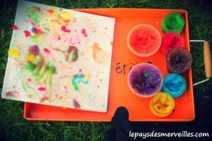 peinture à doigts maison - peinture comestible (8)