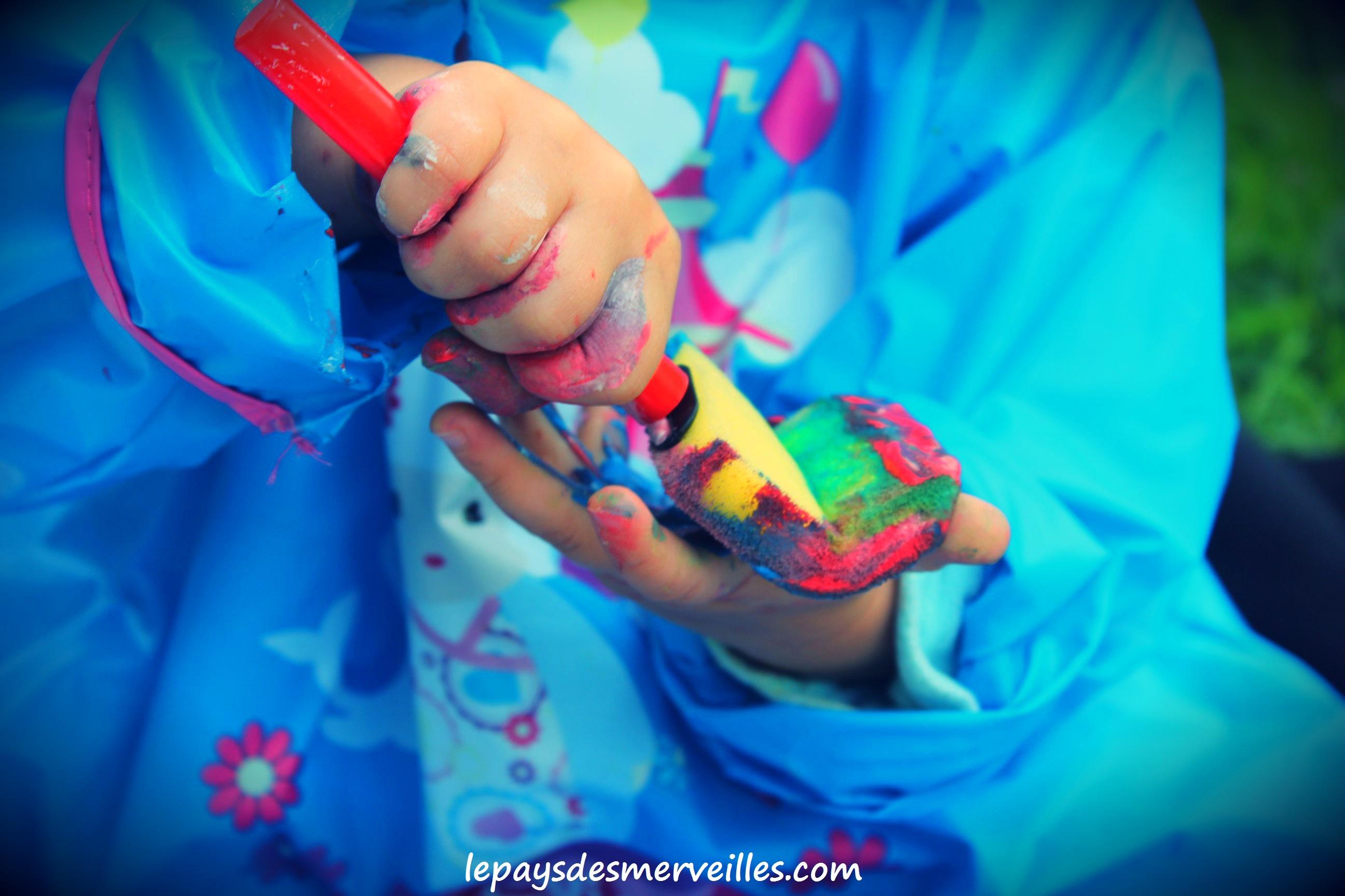 Une s ance peinture qui fait flop m lange des couleurs - Melange de peinture ...