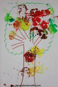 Bricolage automne peindre avec une pomme 220913 (1)