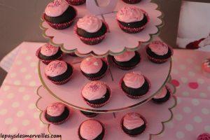 cupcake glaçage rose