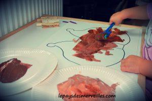 Herisson pinces a linge - bricolage enfant (2)