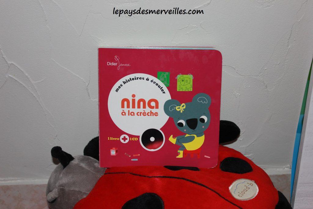 Nina a la creche - livre cd (1)