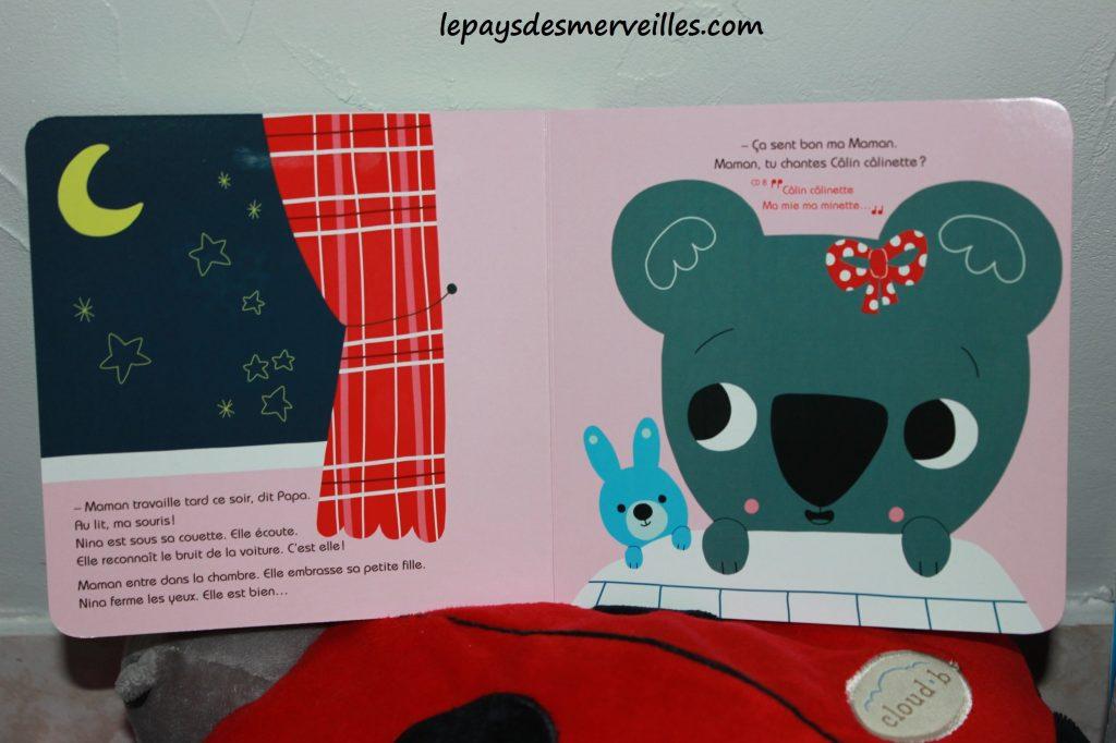 Nina a la creche - livre cd (3)