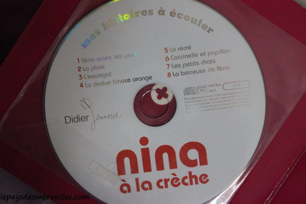 Nina a la creche - livre cd (4)