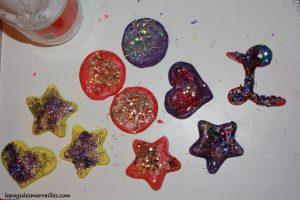 décorations de Noel en pâte à sel + recette de la pâte à sel (8)