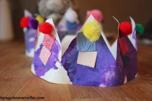 050114 (8) bricolage couronne des rois