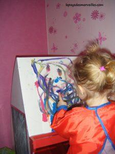 peinture son premier bonhomme 100214 (4)