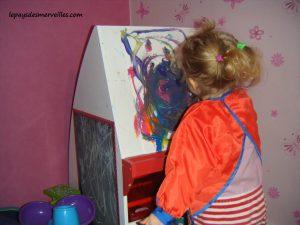 peinture son premier bonhomme 100214 (5)