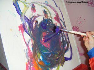 peinture son premier bonhomme 100214 (6)