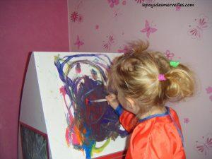 peinture son premier bonhomme 100214 (8)