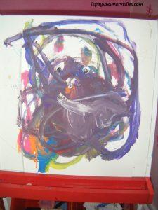 peinture son premier bonhomme 100214 (9)