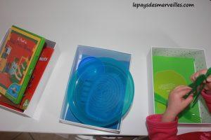 Activité sur les couleurs - Tri, collage et peinture (3)