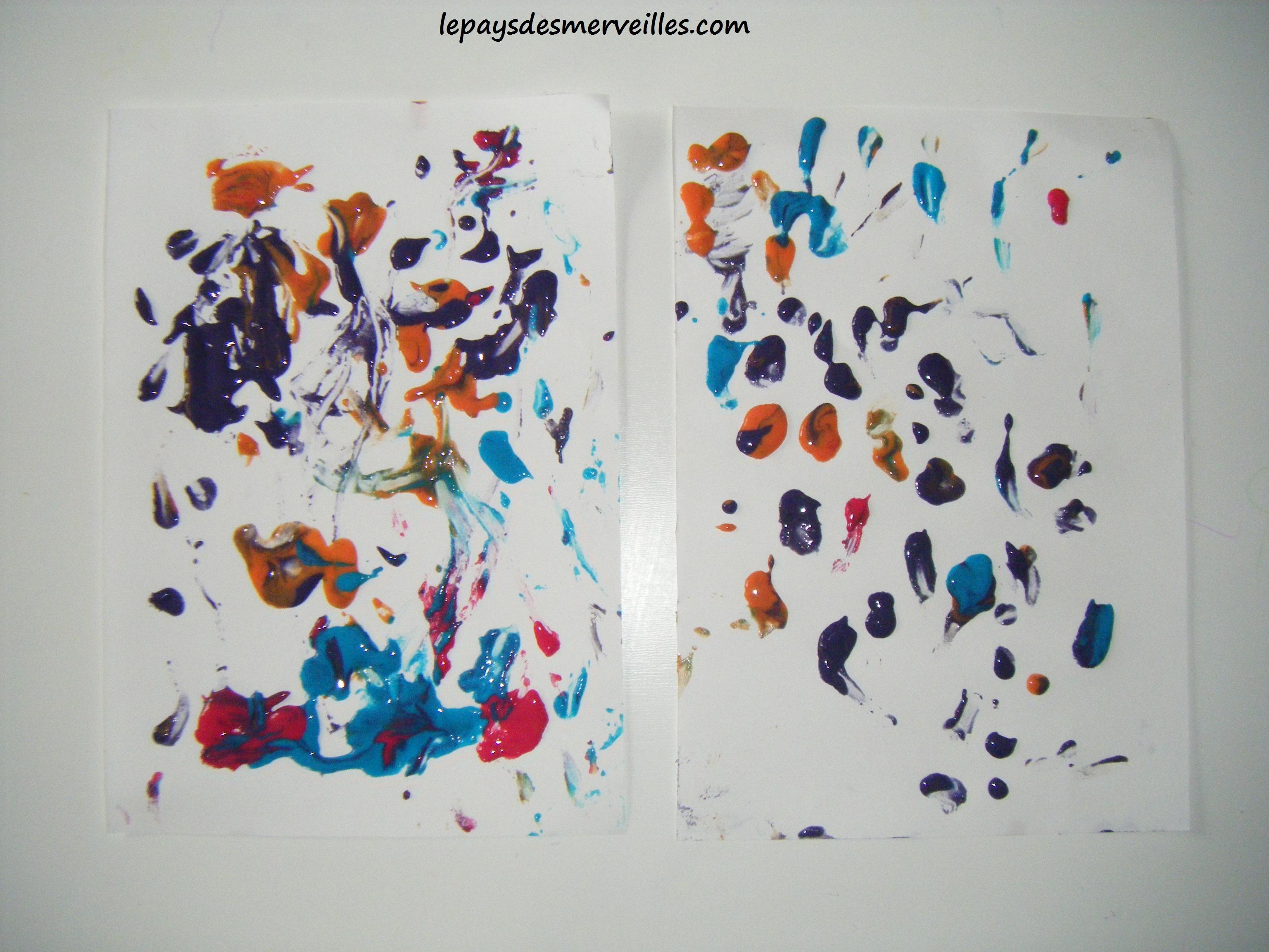 Fabuleux Peinture gonflante - Activité simple et rapide°° - Le pays des  RB42