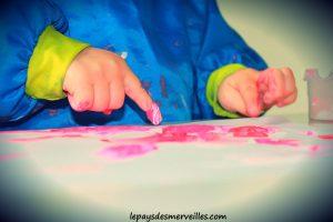 Bricolage coeur peinture - bricolage fête des pères fête des mères (10)