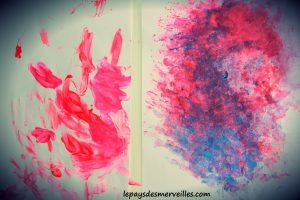 Bricolage coeur peinture - bricolage fête des pères fête des mères (12)