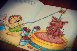 Livre de Paques - Mini-Loup et le lapin de Paques - editions hachette