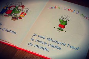 Livre thème Pâques - Emilie et les oeufs de Pâques - Casterman
