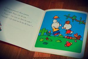 Livre thème Paques - Petit lapin blanc et les oeufs de Paques
