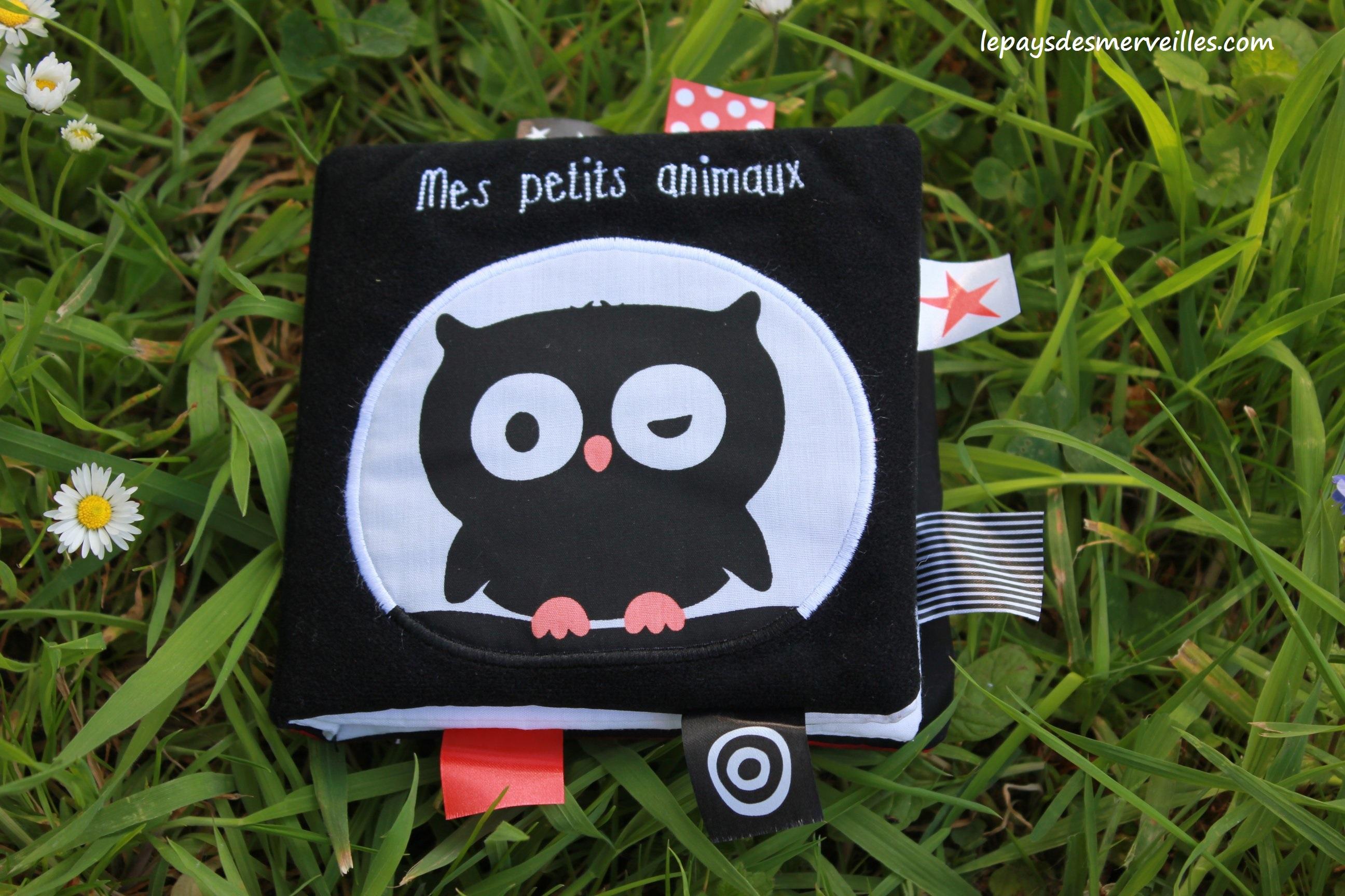 Mes Petits Animaux Livre En Tissu Aux Editions Tourbillon