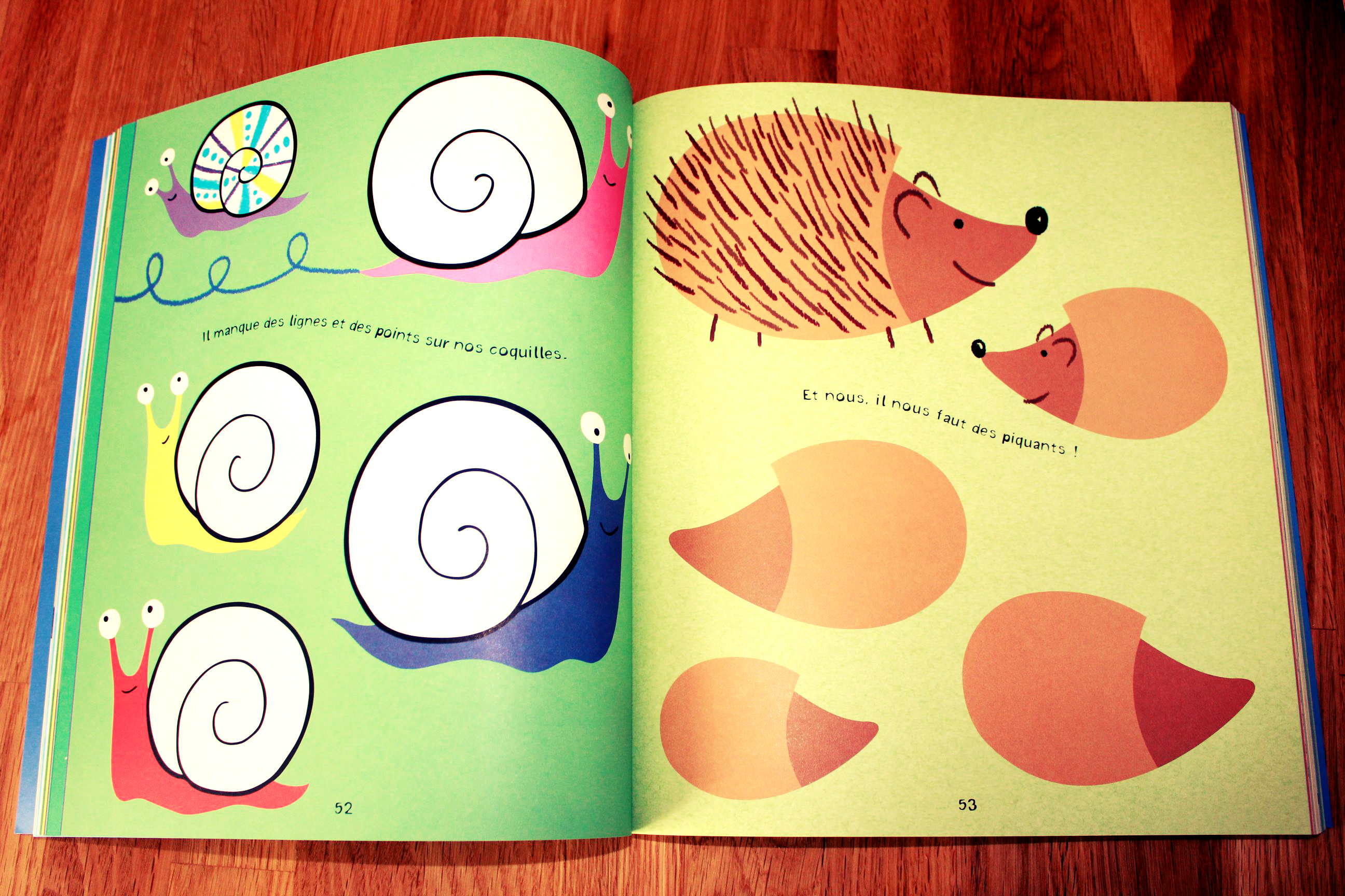 Premiers dessins et coloriages Editions Usborne Cahier de coloriage 1
