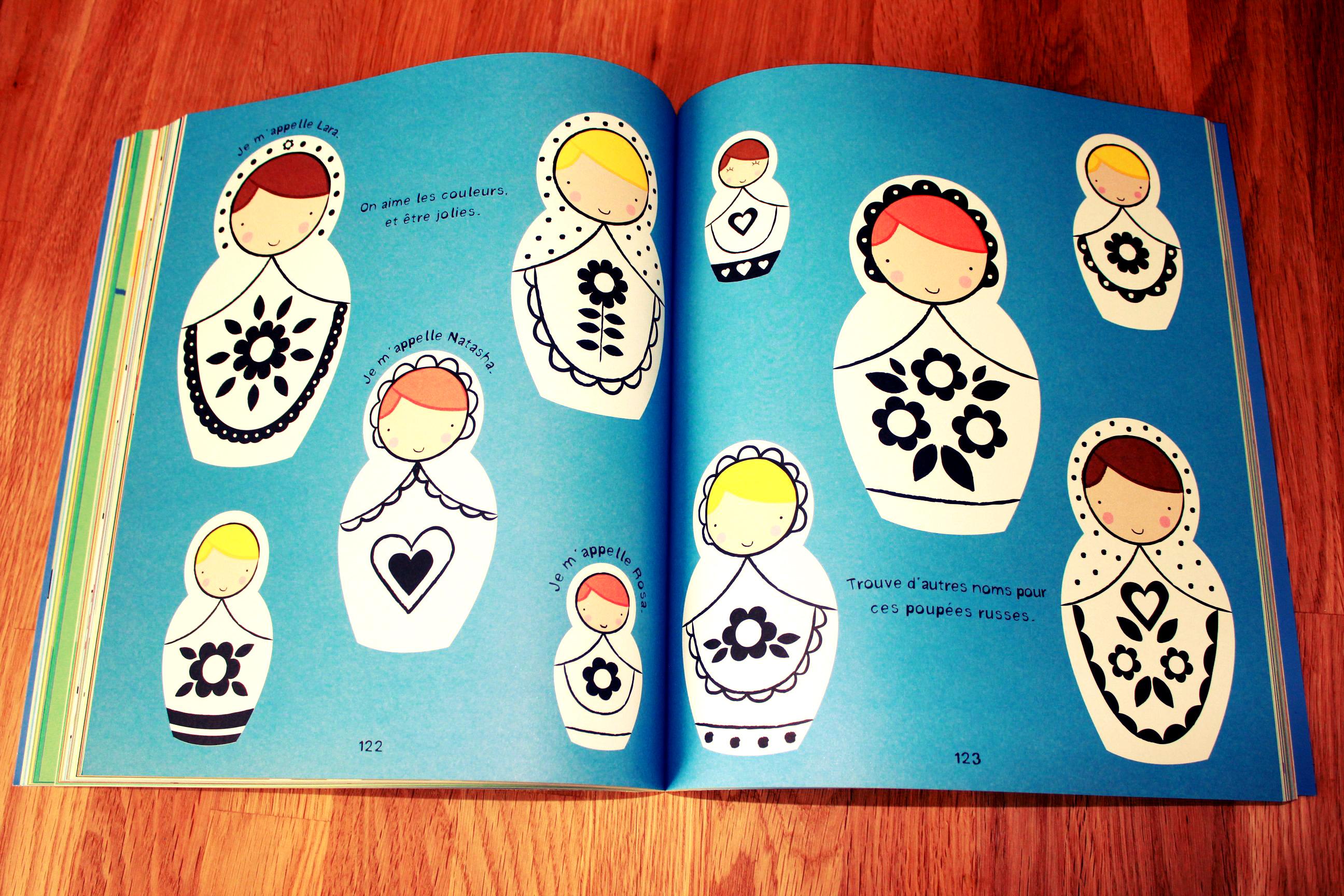 Premiers dessins et coloriages Editions Usborne Cahier de coloriage 4