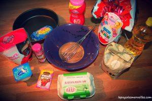 gâteau kinder maxi - recette facile avec enfants (1)