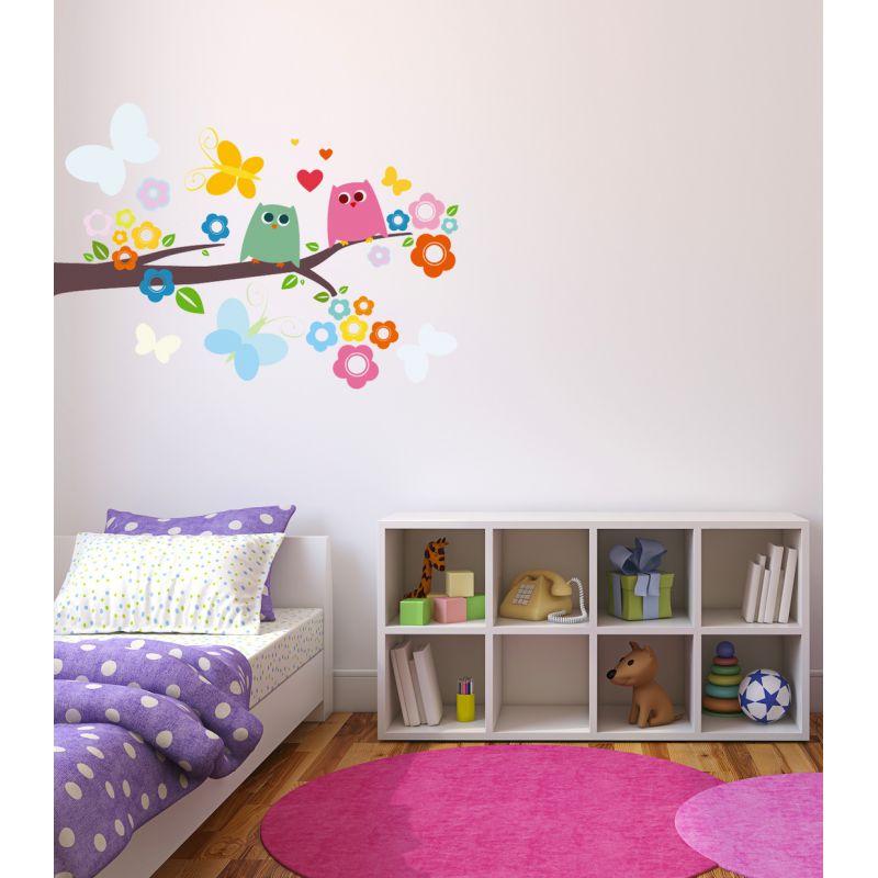 d corer la chambre de b b avec des stickers decosoon le pays des merveilles. Black Bedroom Furniture Sets. Home Design Ideas