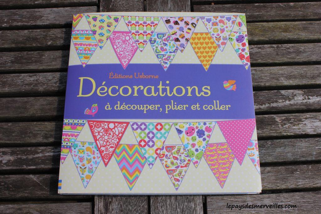 Décorations à découper, plier et coller- Editions Usborne - Origami facile (1)