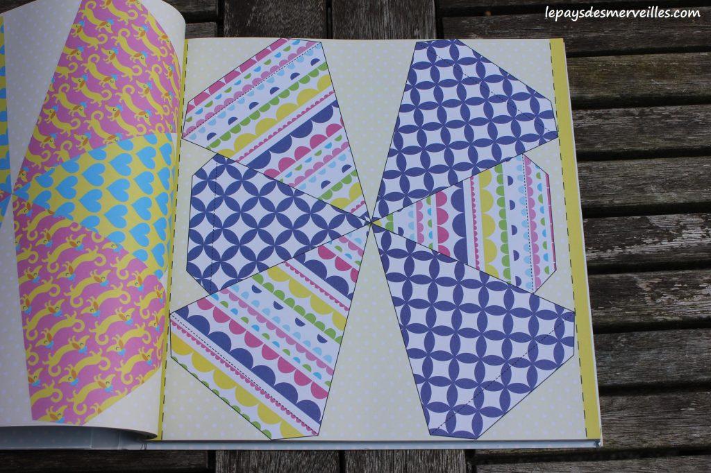 Décorations à découper, plier et coller- Editions Usborne - Origami facile (2)