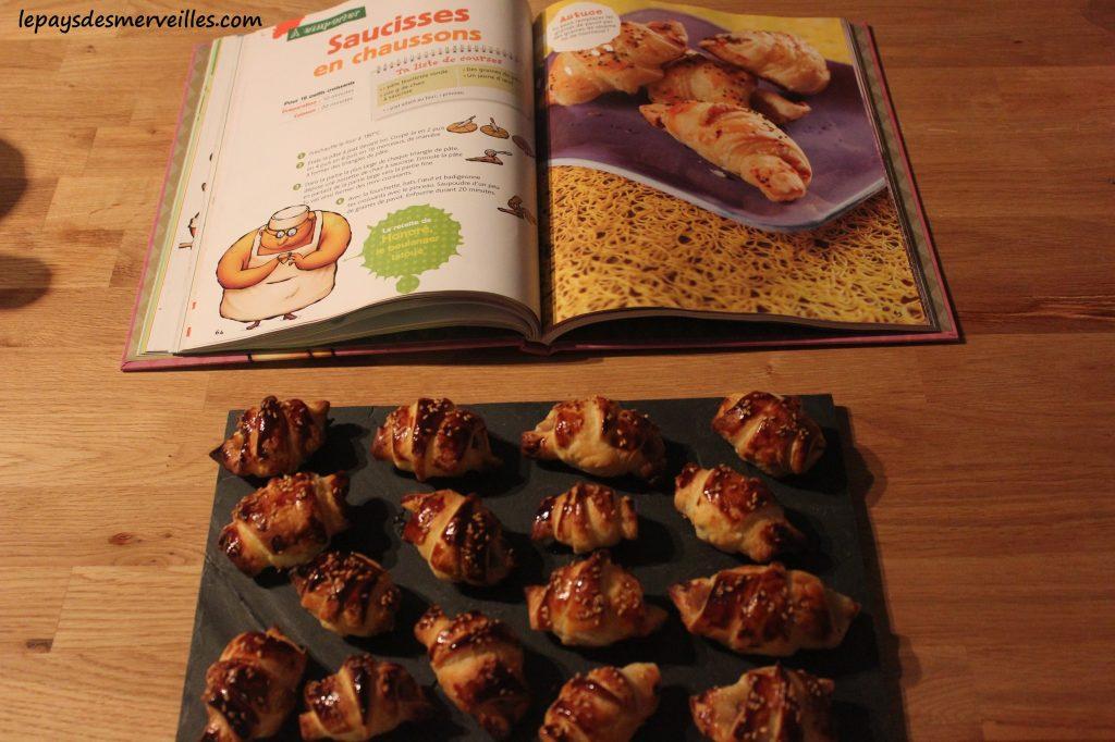 Graine de cuistot - Recette croissants salés (1)