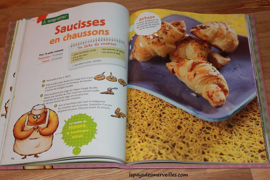 Graine de cuistot - Recette croissants salés (2)