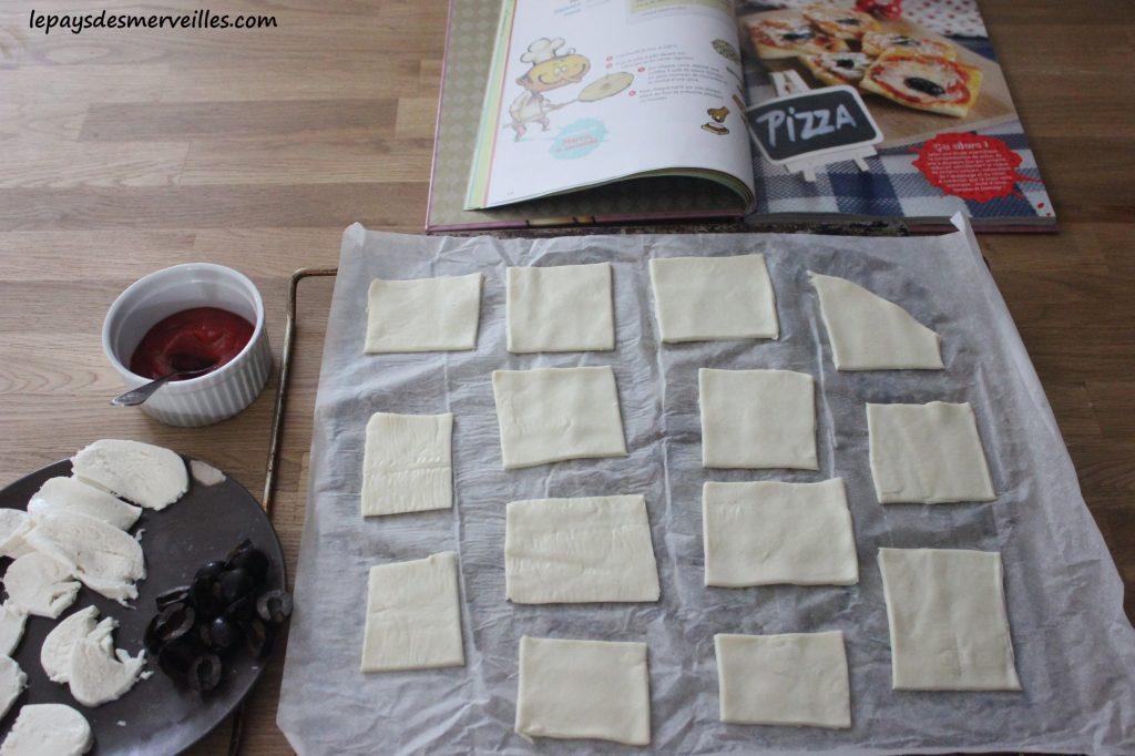 Graine de cuistot - Recette mini pizza (2)