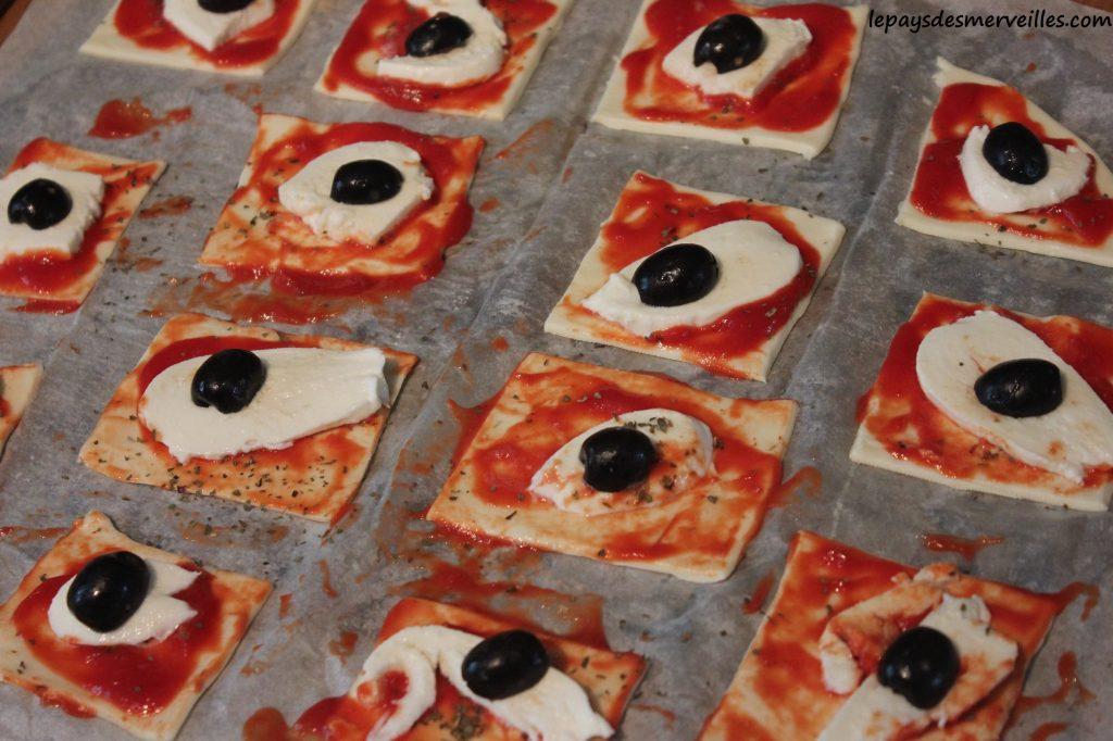 Graine de cuistot - Recette mini pizza (4)