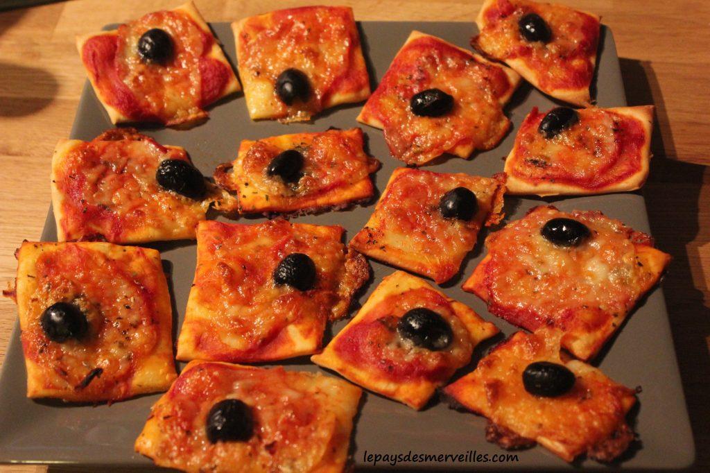 Graine de cuistot - Recette mini pizza (5)