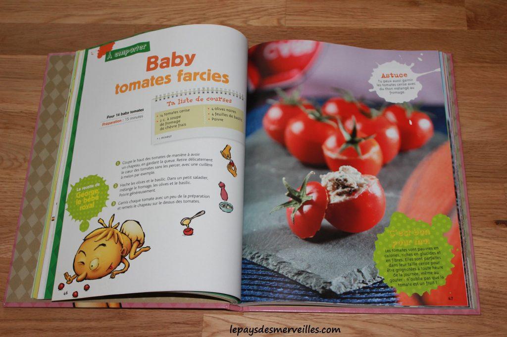 Graine de cuistot - Recette tomates cerises farcies (1)