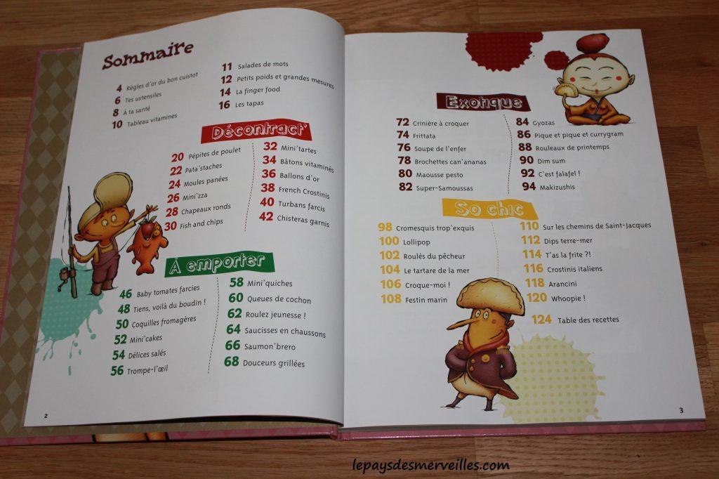 Graine de cuistot tapas et finger food - livre recettes enfants (2)