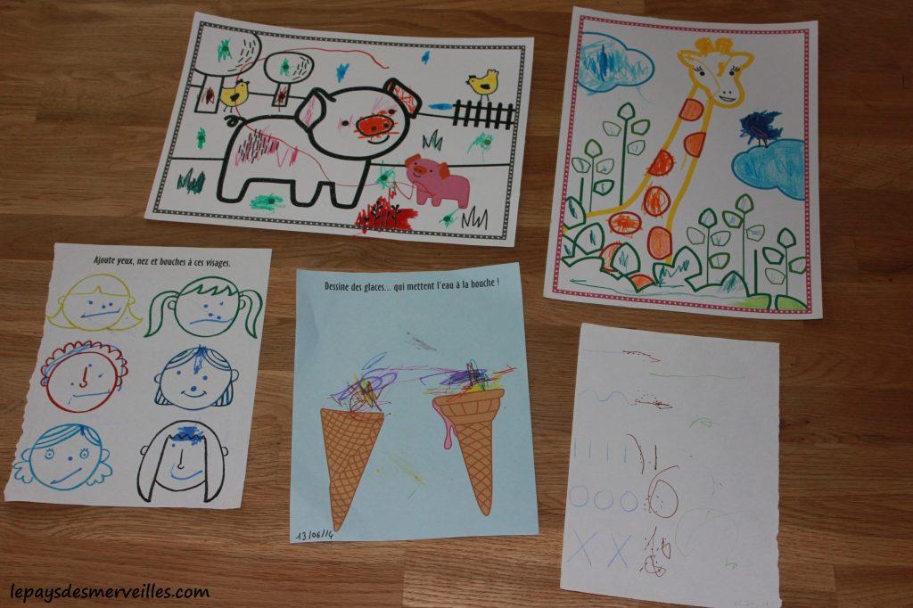 dessin et coloriage enfant 2 ans et demi