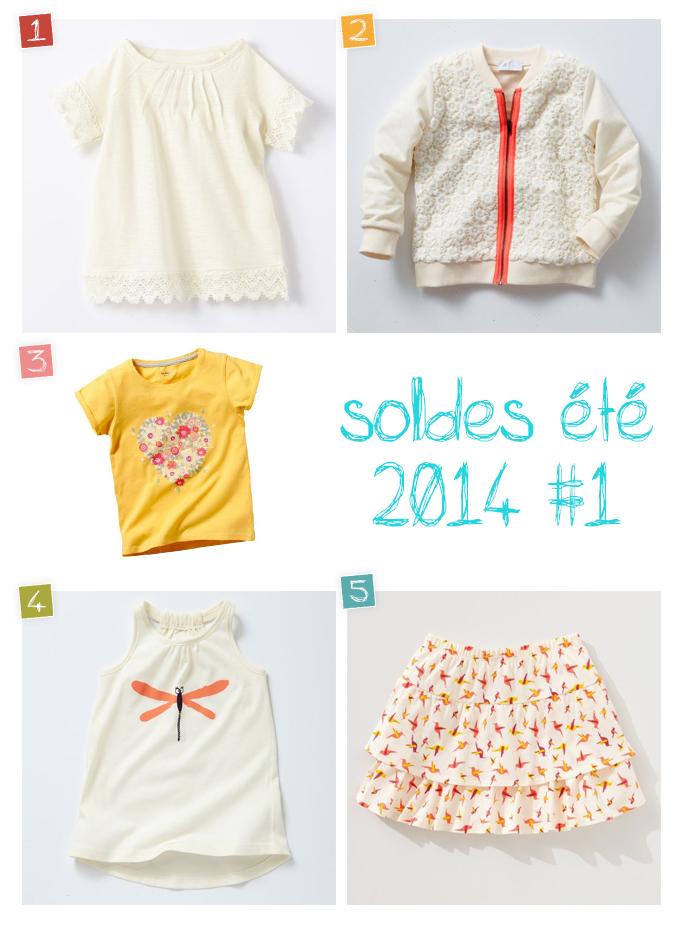 selection soldes 2014 fille